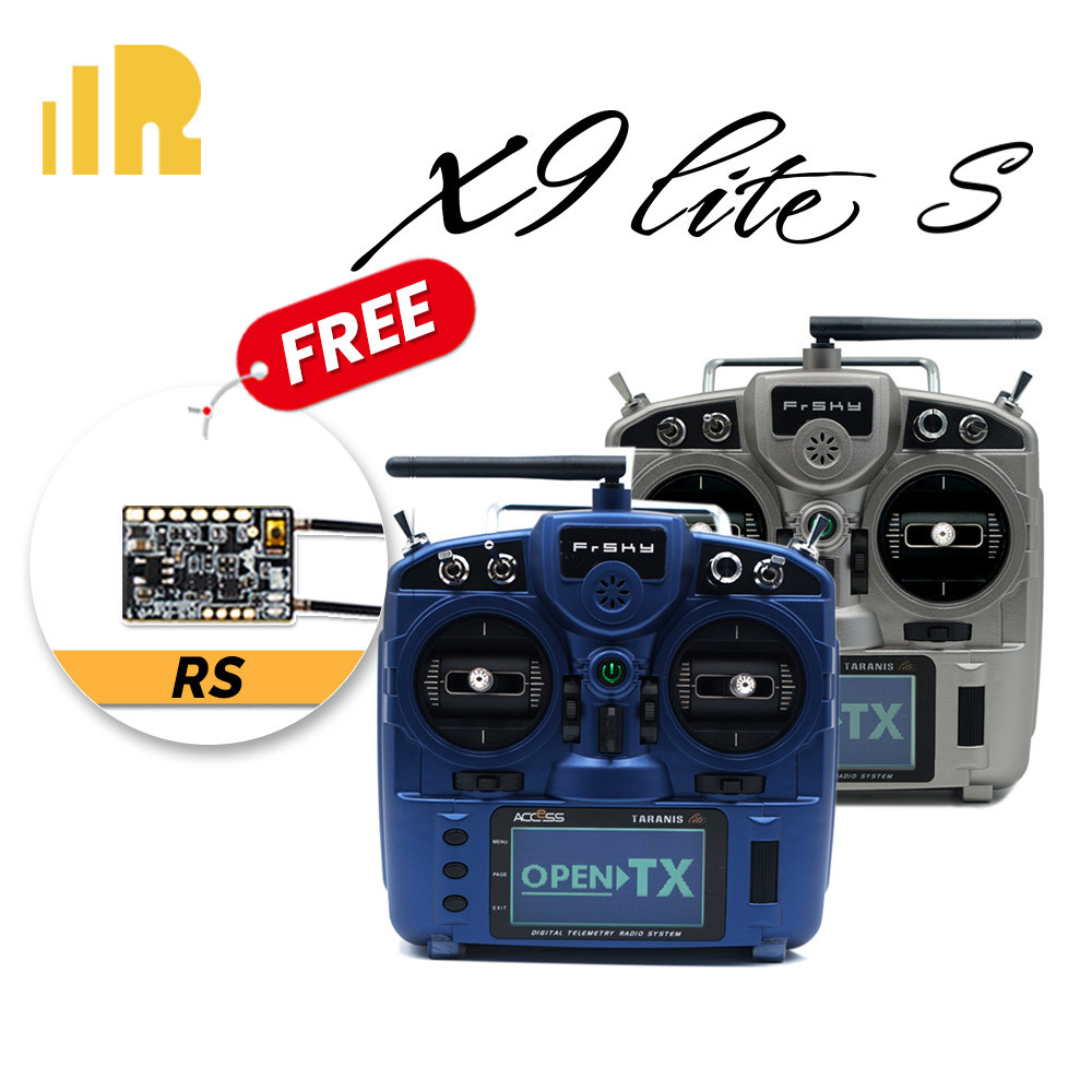 FrSky ACCESS Taranis X9 Lite S 24CH Radio (FREE RS RECEIVER)