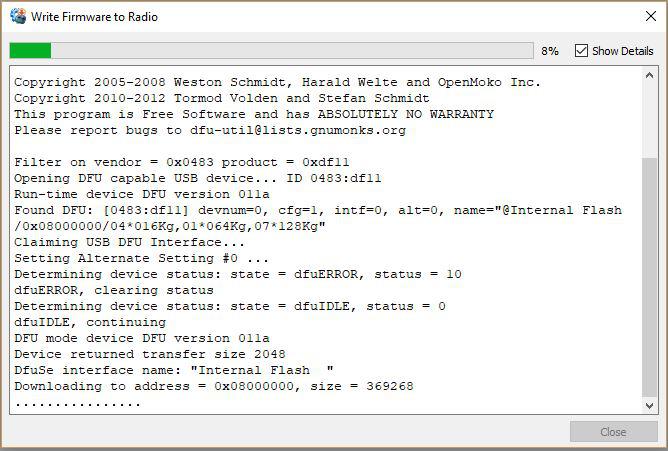 Unbricking Taranis Radios with OpenTX Operating Systems